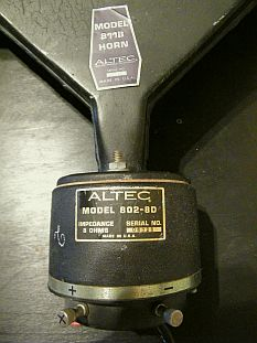 tweeter horn Altec