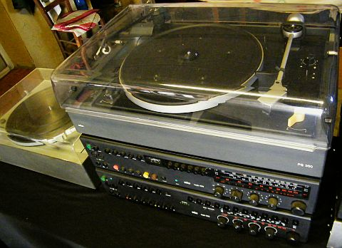 platine TD ps-350 vintage de collection