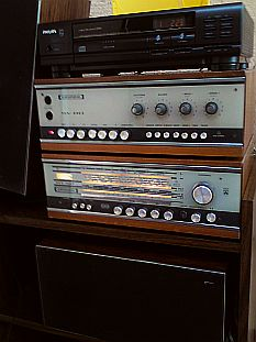 lot hifi vintage avec Philips cd110