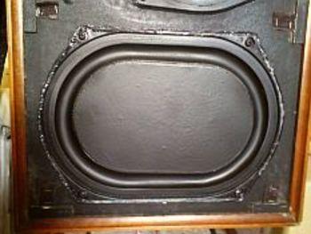 enceintes acoustiques vintage kef cadenza sp1024 de 1974. Black Bedroom Furniture Sets. Home Design Ideas