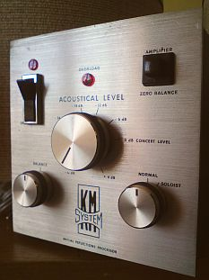 enceintes asservies korn et macway servo sound km50 vintage avec filtre actif pr6 s par. Black Bedroom Furniture Sets. Home Design Ideas