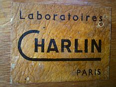 laboratoires charlin, paris