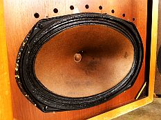 paire d 39 enceintes acoustiques vintage 3 voies l e s b85 par le laboratoire electronique du son. Black Bedroom Furniture Sets. Home Design Ideas