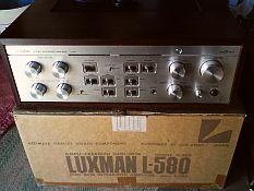 Luxman l580 vintage sur carton d'origine