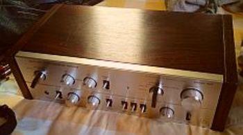 Amplificateur intégré LUXMAN L-580 DC Duo-Beta Circuit vintage