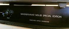enceintes panneaux dip les vintage magneplanar mg20 special edition par magnepan avec filtre. Black Bedroom Furniture Sets. Home Design Ideas