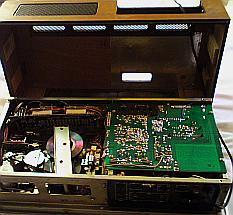 nakamichi 700 tri-tracer vue intérieure
