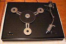 rare platine tourne disques tripode scientelec club vintage 2 vitesses. Black Bedroom Furniture Sets. Home Design Ideas
