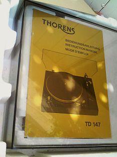 Platine tourne disques vintage thorens 147 bras tp16 mkiv for Porte cellule thorens tp 60