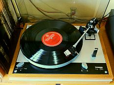 Thorens td160c Vintage avec Collector